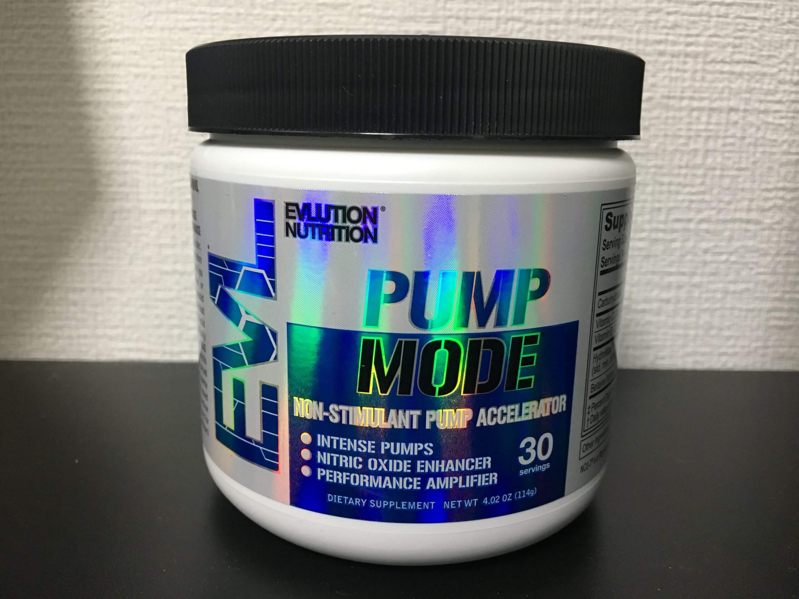 EVLUTION NUTRITION「PUMP MODE」