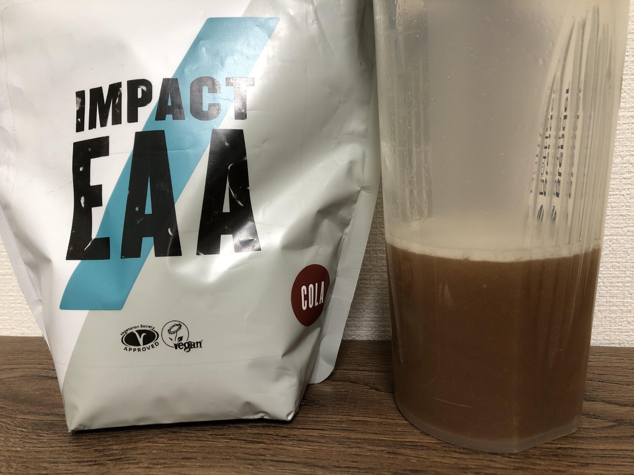 マイプロテイン Impact EAA コーラ